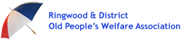 Ringwood and District Old People's Welfare Association logo